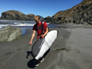 Oregon Coast Surf Lesson Instructor Kendal Gile