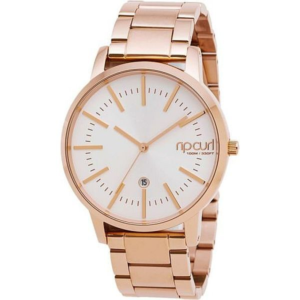 Women's Rip Curl Linden Watch Rose Gold