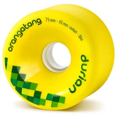 Orangatang Durian Yellow Longboard Wheels