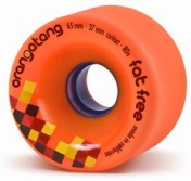Orangatang Fat Free Orange Wheels