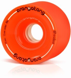 Orangatang 4President Orange Wheels