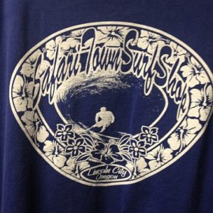 Safari Town Original Logo Tee Blue