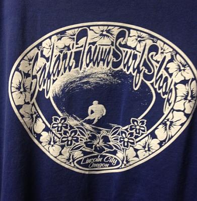 Safari Town Original Logo Tee Blue