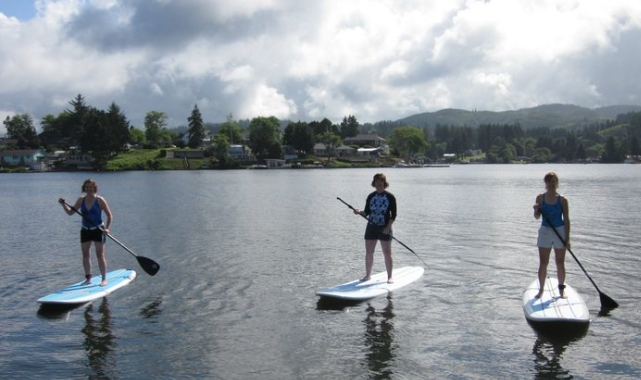 Stand Up Paddle Boarding Lessons Lincoln City