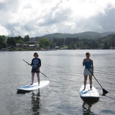 Oregon Coast Stand up Paddle Board Lessons