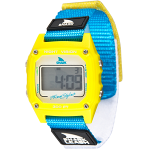 SHARK CLASSIC LEASH YELLOW CYAN