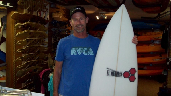 Safari Town Surfing Instructor Dayl Wood