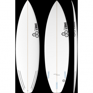 Black and White Channel Islands Surfboard
