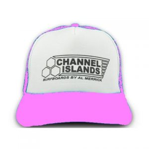 Channel Islands Women's Pink Flag Trucker Hat