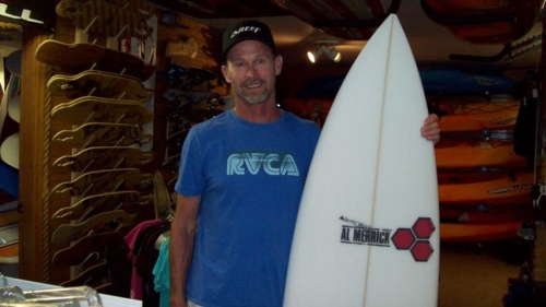 Safari Town Surf Surfing Instructor Dayl Wood