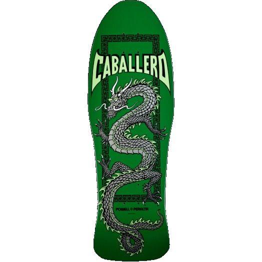 Powell Peralta Steve Caballero Chinese Dragon Deck Green
