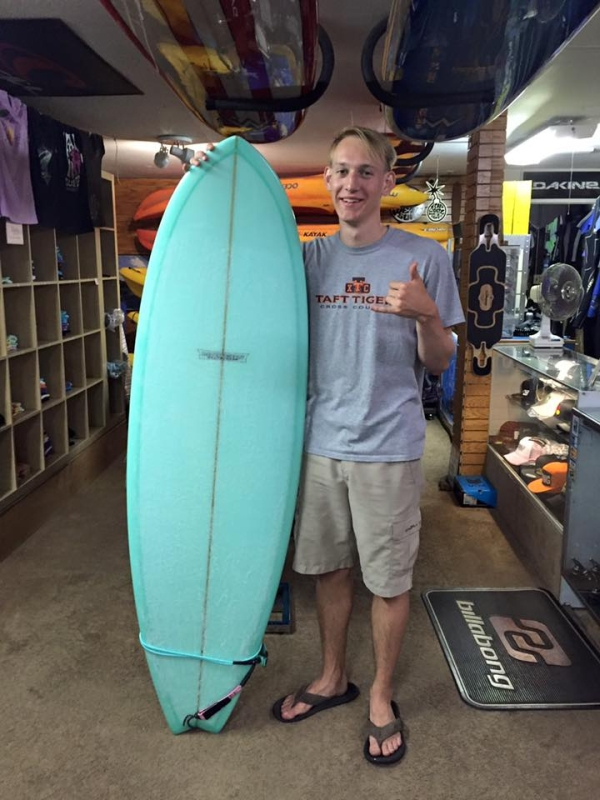 Lincoln City Surfing Instructor Kendal Gile