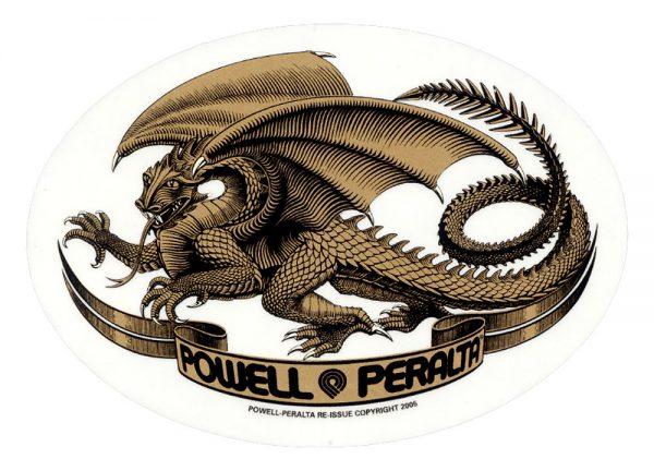Powell Peralta Oval Dragon Sticker