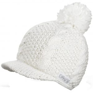 Dakine Women's White Shelby Beanie