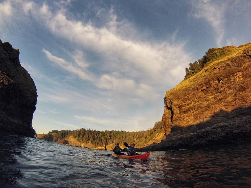 Kayak Rentals Lincoln City, Oregon
