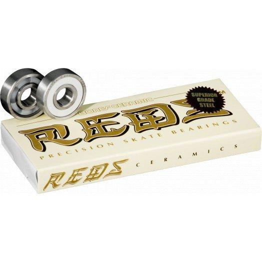 Bones Ceramic Super REDS Bearings (8 pack)