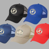 Safari Town Surf Trucker Caps