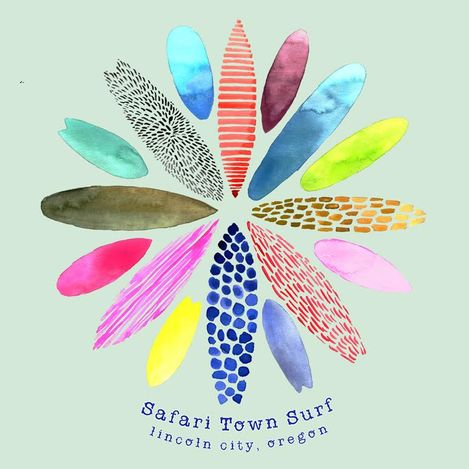 Safari Town Women's Board Room T-Shirt