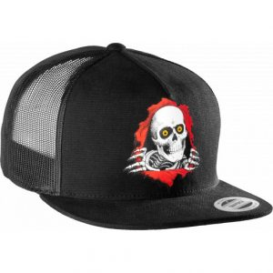 Powell Peralta Ripper Trucker Snapback Cap - Black