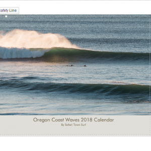 2018 Oregon Coast Waves Calendar