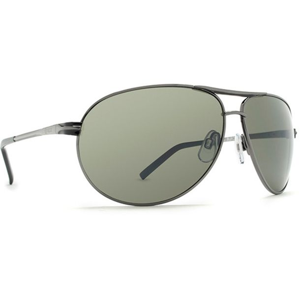 Dot Dash Buford T Charcoal Grey Chrome Sunglasses