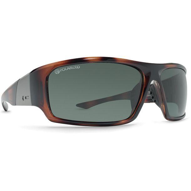 Dot Dash Destro Tortoise Gloss Grey Polarized Sunglasses