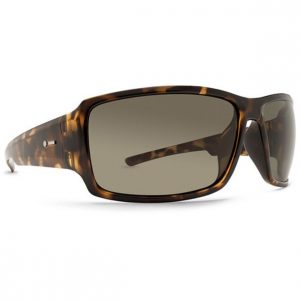Dot Dash Exxellerator Tortoise Satin Retro Grey Sunglasses