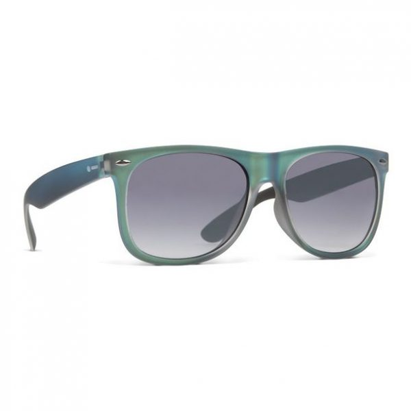 Dot Dash Kerfuffle Metallic Teal Satin Sunglasses