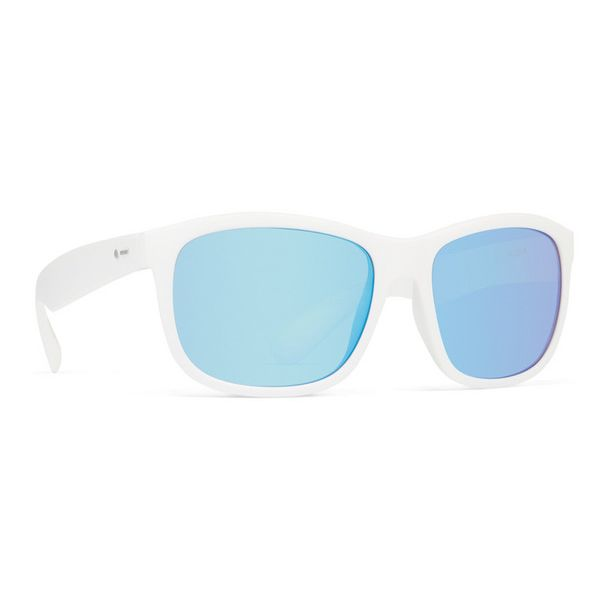 Dot Dash Poseur White Astro Chrome Sunglasses