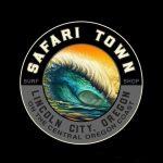 Safari Town Surf Big Barrel T-Shirt