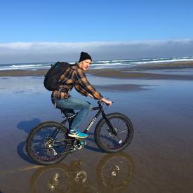 Cape Kiwanda Fat Bike Beach Ride