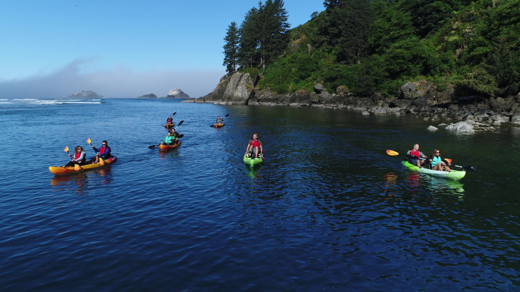 Kayak Tours Lincoln City