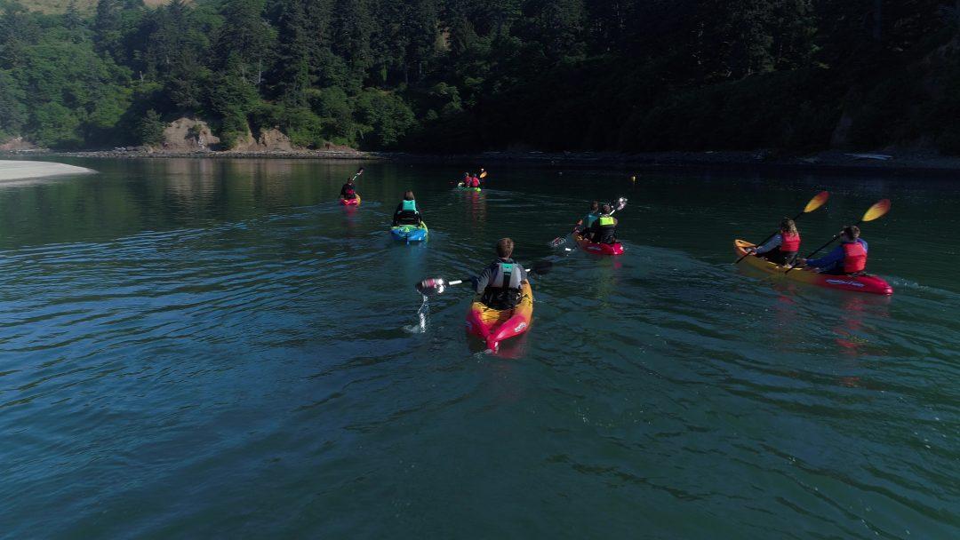 Kayaking Lincoln City