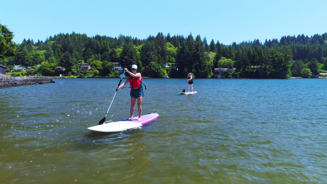 Stand up Paddle Board Rentals Lincoln City Oregon