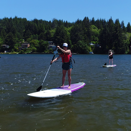 Stand up Paddle Boarding Lincoln City Oregon