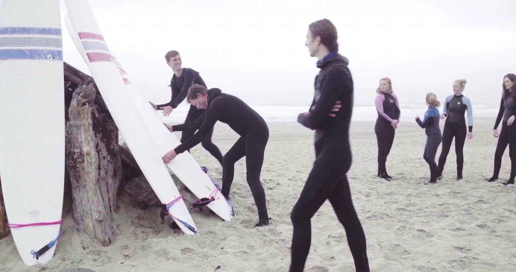Surfing Lessons Lincoln City Oregon