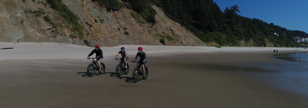 Fat Bike Beach Rides Lincoln City Oregon