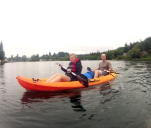 Devils Lake Kayak Tour