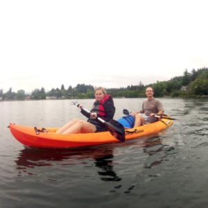 2 Hour Private Devils Lake Kayak Tour