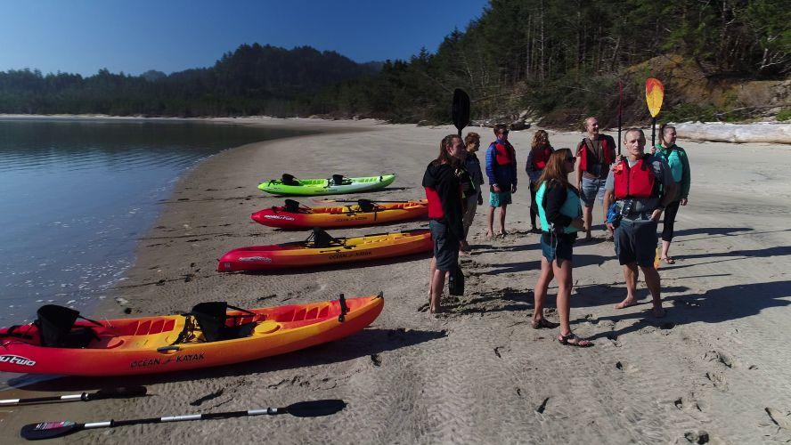 Kayak Tour Guides
